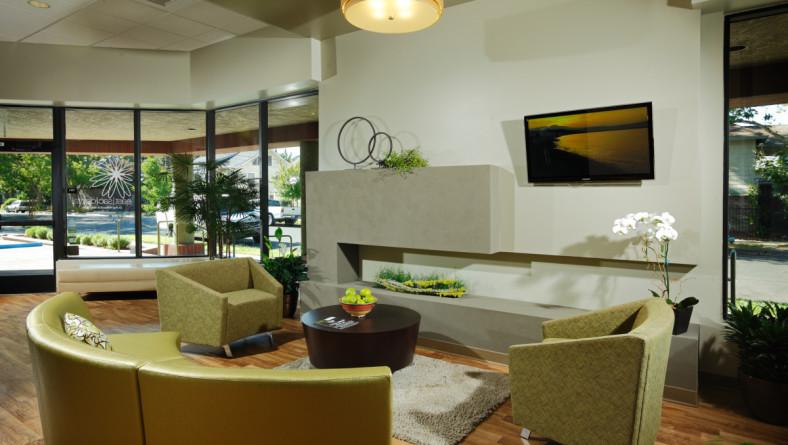 Spa Like Setting For Dental Health Care Office Design Home Remodel Residential Interior
