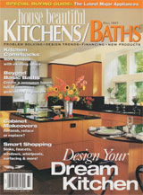House Beautiful Kitchens / Baths Magazine Fall 1997
